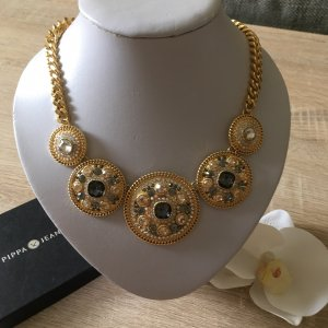 Pippa & Jean Statement Necklace gold-colored