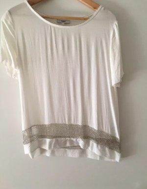Suncco Paris Shirt, Größe 34, Weiß