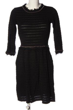 Suncoo Langarmkleid schwarz Street-Fashion-Look