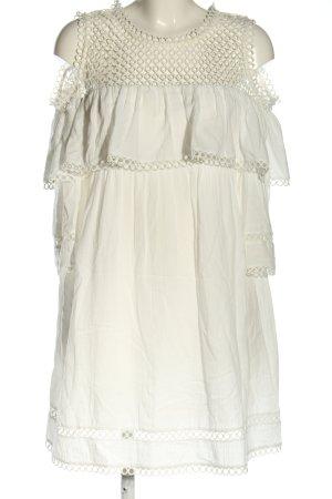 Suncoo Minikleid weiß Casual-Look
