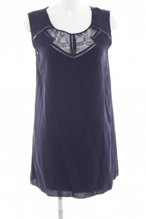 Suncoo Minikleid dunkelblau schlichter Stil