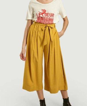 Suncoo 7/8 Length Trousers gold orange viscose