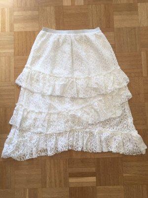 Suncoo Lace Skirt multicolored cotton
