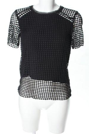 Suncoo T-Shirt schwarz Casual-Look
