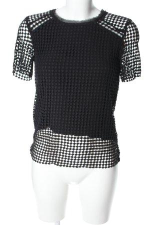 Suncoo T-shirt nero stile casual