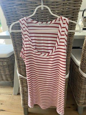 Sunday in bed. Pijama blanco-rojo