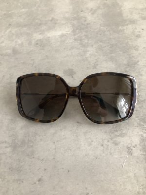 Givenchy Square Glasses black brown