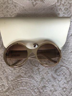 Marni Occhiale stile retro oro-marrone chiaro