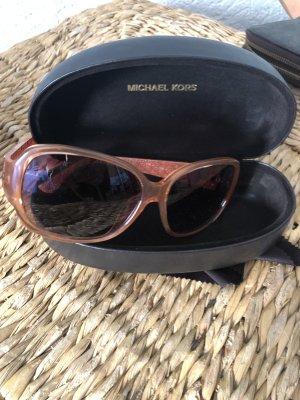 Michael Kors Ovale zonnebril lichtbruin