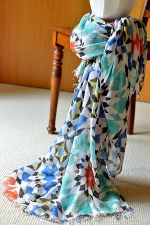Sunny Écharpe d'été multicolore modal
