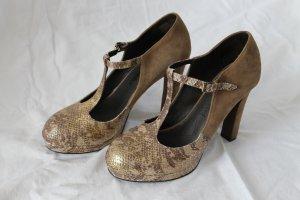 Super ausgefallene Riemchen heels von Luxury Rebel