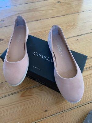 Carmela Ballerines classiques or rose