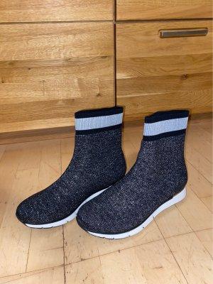 Super bequeme Glitzer Boots