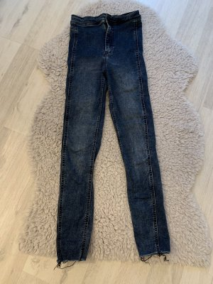 H&M Jeansy o obcisłym kroju ciemnoniebieski
