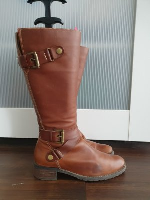 Winter Boots brown-cognac-coloured
