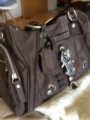 George Gina & Lucy Bowling Bag dark brown
