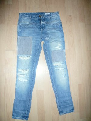 Closed Workowate jeansy chabrowy Bawełna
