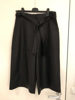 Angela Davis Falda pantalón de pernera ancha negro