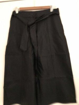 Angela Davis Pantalone culotte nero