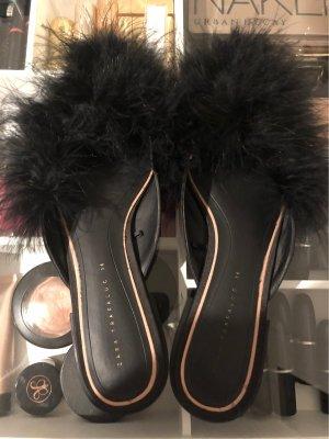 Zara Trafaluc Buty wciągane czarny