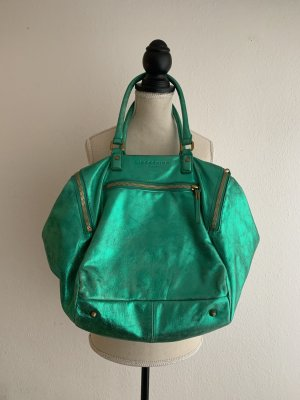 Liebeskind Shopper neon red-green leather