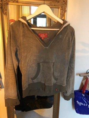 edc Capuchon sweater khaki