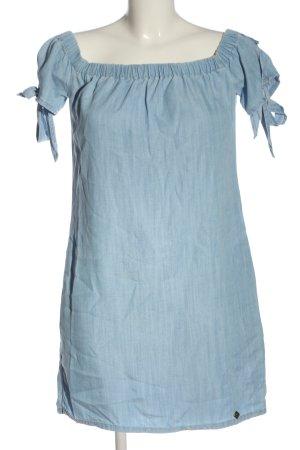 SUPER DRY Jeanskleid blau Casual-Look