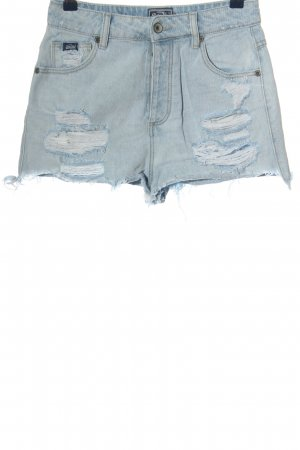 SUPER DRY Jeansshorts blau Casual-Look