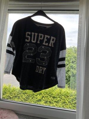 Super Dry Langarm Shirt Größe M
