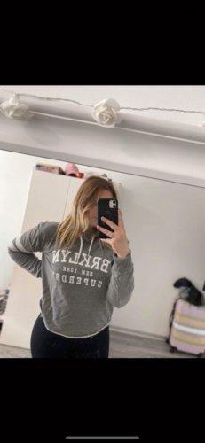 Superdry Sweter z kapturem szary