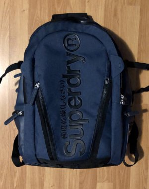 Superdry Schoolrugzak donkerblauw