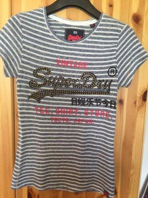 Super Dry Shirt mit Niete