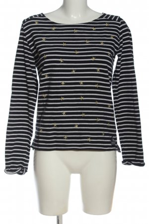 SUPER DRY Strickshirt abstraktes Muster Casual-Look