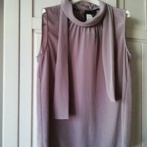Luisa Cerano Haut col roulé gris violet polyester