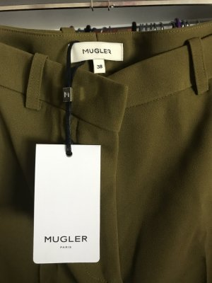 Super elegante Hose im Militär Farbe von Mugler Paris