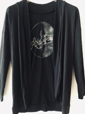 Arqueonautas Shirt Jacket dark blue-anthracite viscose
