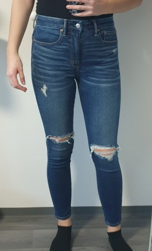 American Eagle Outfitters Hoge taille jeans veelkleurig