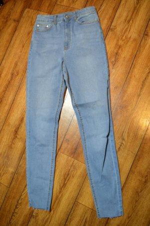 Nakd Jeans a vita alta azzurro