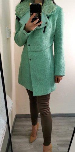 R&D Wełniany płaszcz Wielokolorowy