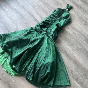 Super hübsches Kleid + Bolero in grün Gr. M