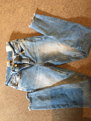 Only Jeans taille basse bleuet