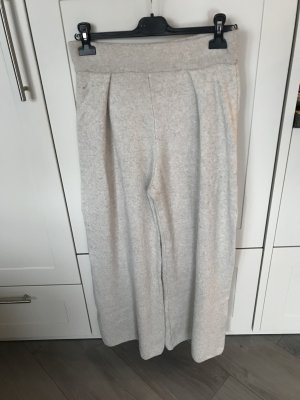 Woolen Trousers natural white viscose
