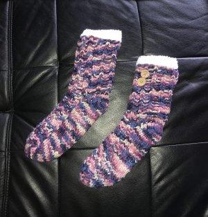 Kik Twin set in maglia multicolore