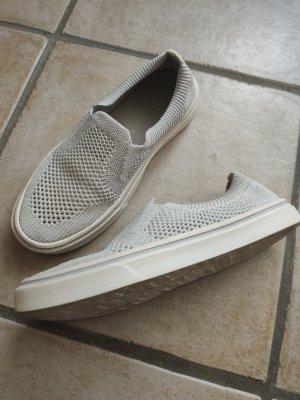 Hilfiger Sneaker slip-on grigio chiaro