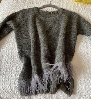 Super leichter feiner Strick Pullover