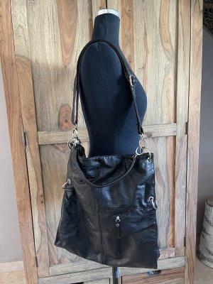 0039 Italy Sac porté épaule noir