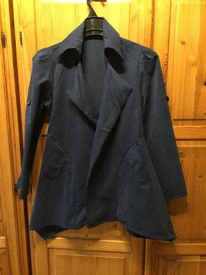 Manteau court bleu foncé
