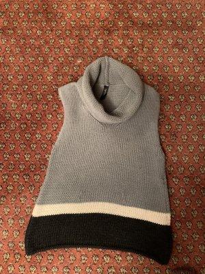 MARCCAIN Sweter bez rękawów z cienkiej dzianiny Wielokolorowy