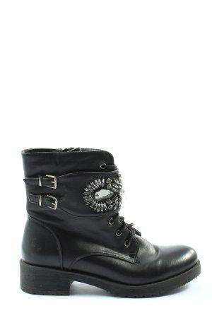 Super Me Krótkie buty czarny W stylu casual