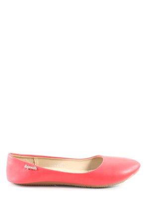 Super Me faltbare Ballerinas pink Casual-Look